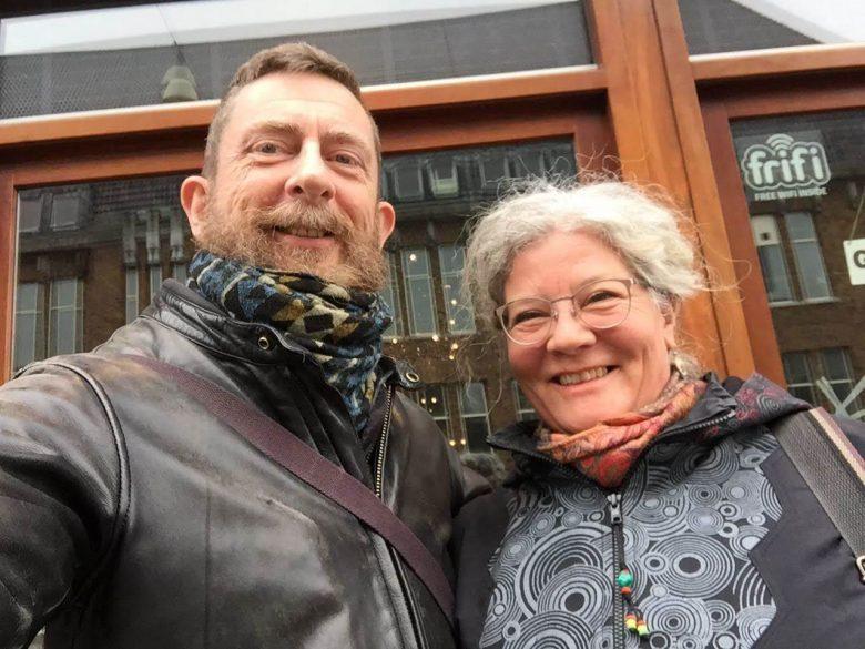 Daan van Kampenhout , Sabine Obermayr Adamzek, Utrecht 2018, Sjamanisme